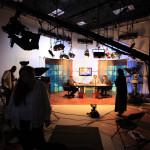 Studio Production in our smaller Studio B