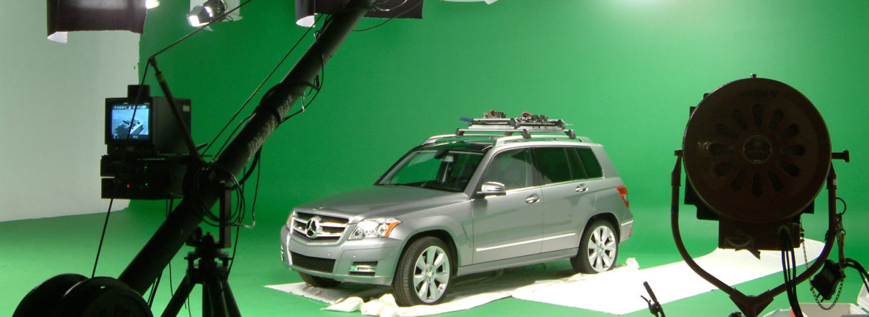 Mercedes in Studio A again for their accessories video.