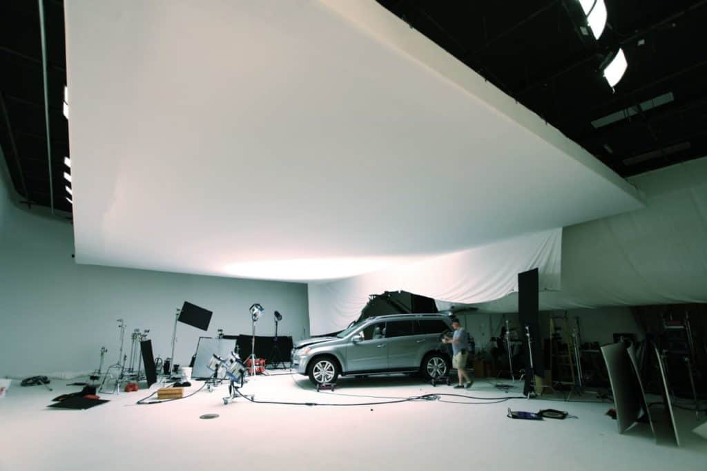 Automotive Shoot in Studio A