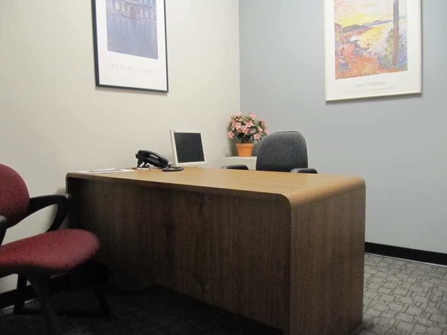 Private client office at MediaMix Studios