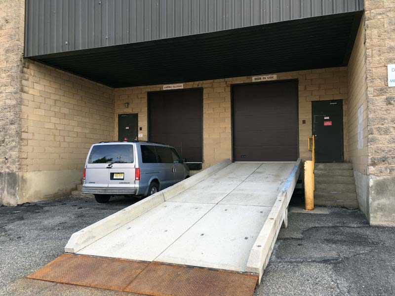 drive-in ramp for studio access