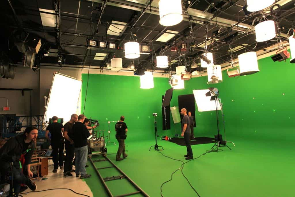 Green Screen in Studio A