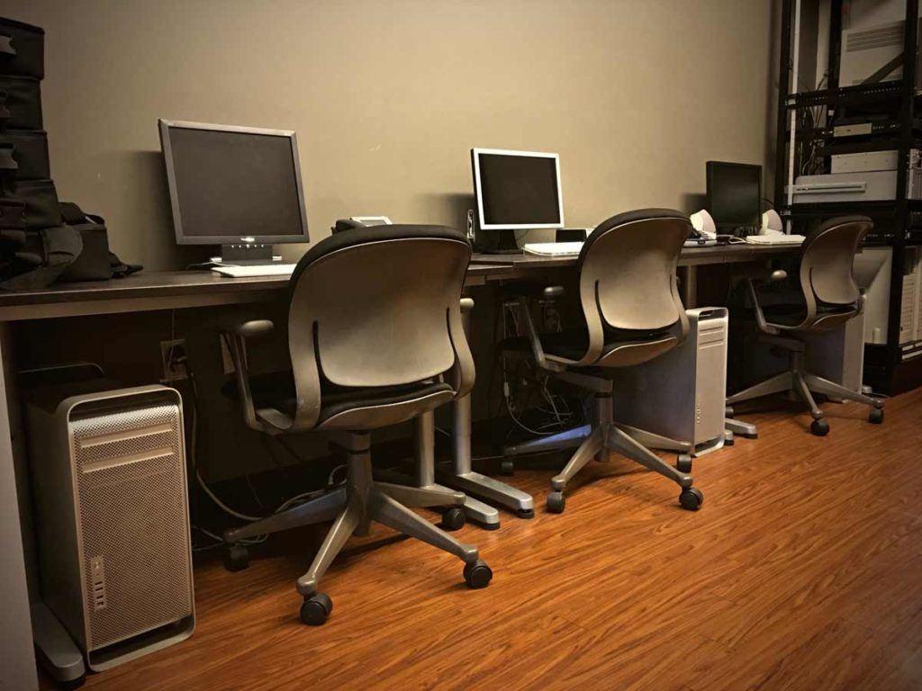 Photo of Editing Stations at MediaMix Studios
